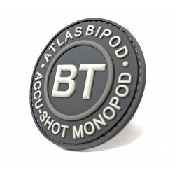 BT60 - B&T Gray Logo Patch
