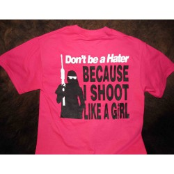"BT36: Women's Shirt - ""Don't be a Hater"""