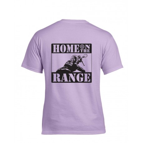 "BT61: ""Home On The Range"" Orchid Women's T-Shirt"